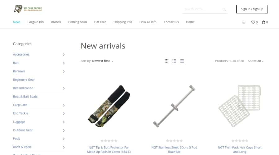 Top 5 Places to Buy Carp Fishing Tackle - USA and Canada ...